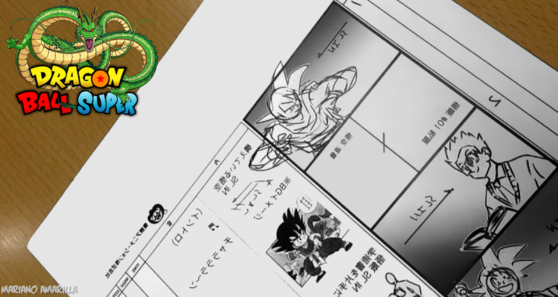#PRIMICIA: Primer Storyboard de Dragon Ball Super!