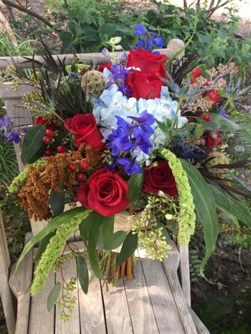 boho bridal flowers