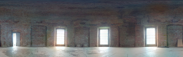 Photo: Inside Mussenden temple. Taken at 5pm with the Raspberry Pi camera board (60 separate photographs). Stitched with Hugin #RPPA