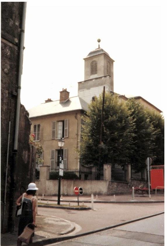 Photo: ヴィル・ダヴレイ 『シベールの日曜日』 http://goo.gl/QY1gi 映画に登場したのはこの教会ではなさそう……