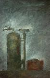 le couple / huile toile / 60x80 / 1994