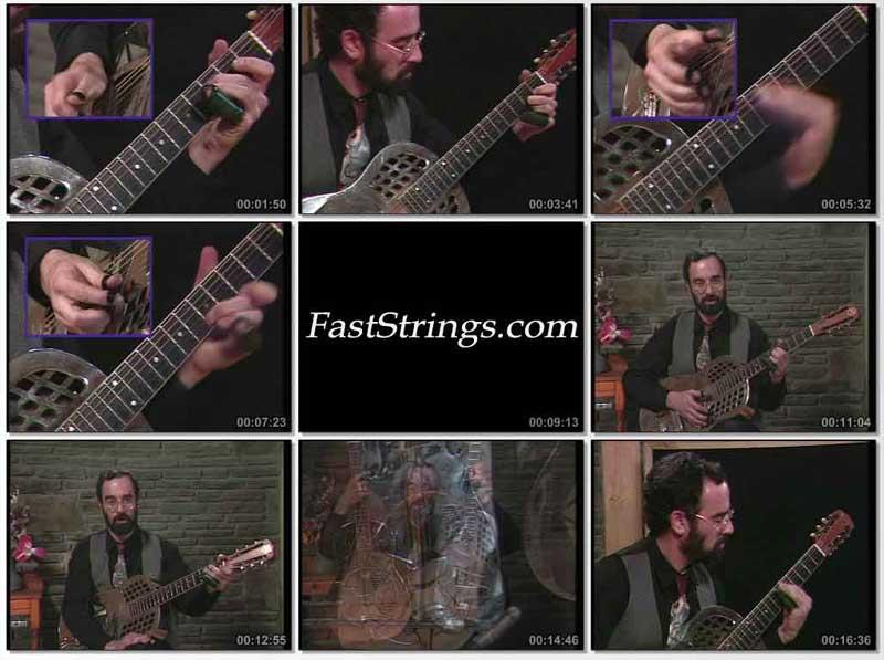 Bob Brozman: Learn To Play Bottleneck Blues Guitar Vol. 1 - The Basics