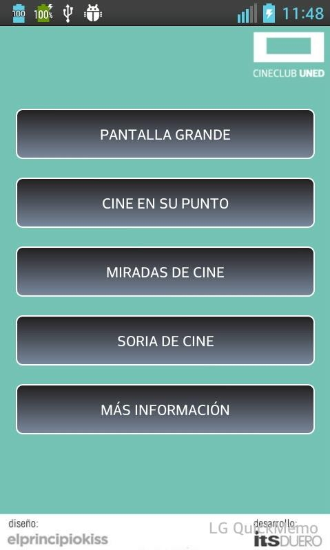 Cineclub Uned- screenshot