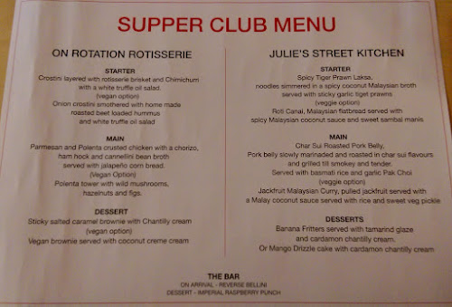 Laneways Supper Club, Julie's Malaysian Kitchen, On Rotation Rotisserie