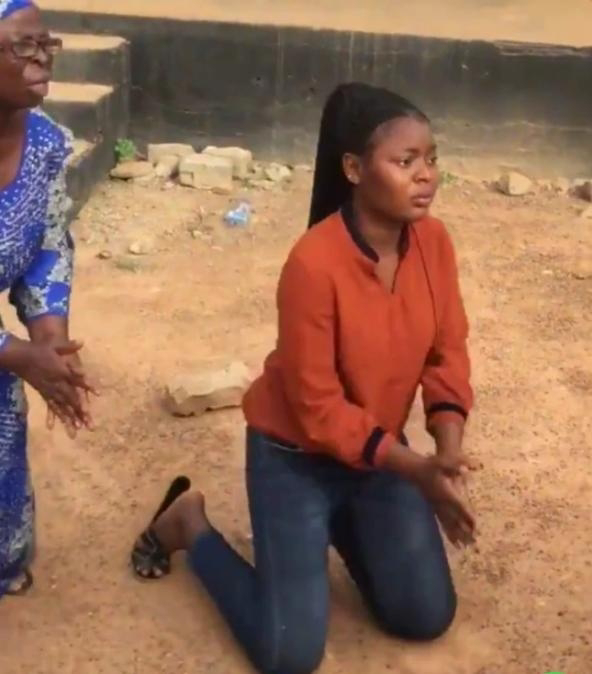 Elderly woman breaks down in tears as lady who 'called her out' for using 'mortuary water to cook' apologizes for her false statements - Vivsco