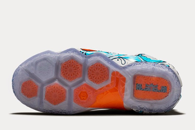 new concept 37fcc 6fe64 ... Available Now Kids8217 Exclusive Nike LeBron 12 GS 8220Buckets8221 ...
