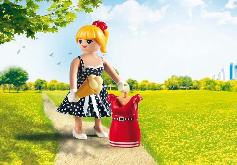 Contenido real de Playmobil® 6883 Moda Campo