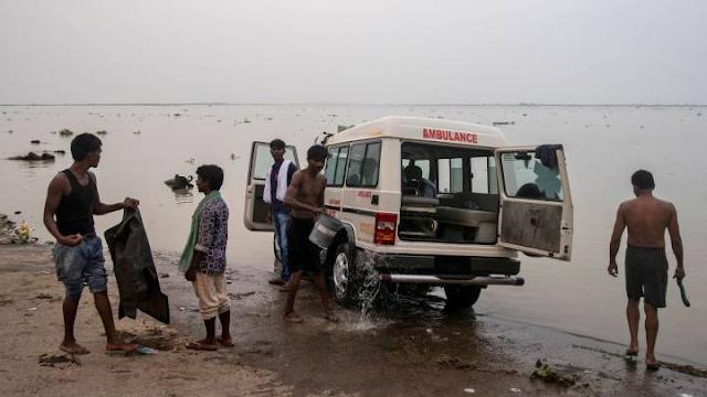 La India: Una paciente con COVID-19, violada en la ambulancia que le trasladaba al hospital