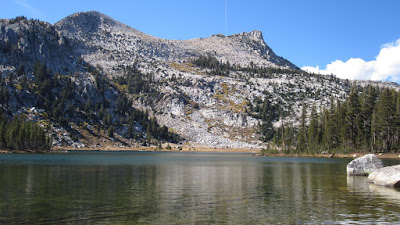 Elizabeth Lake with Unicorn Peak©http://backpackthesierra.com