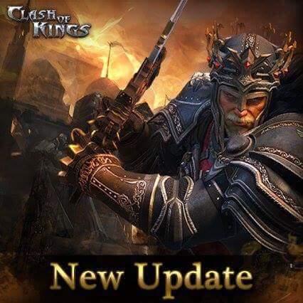 Clash of Kings Güncellendi. Yeni Sürüm 3.3.0