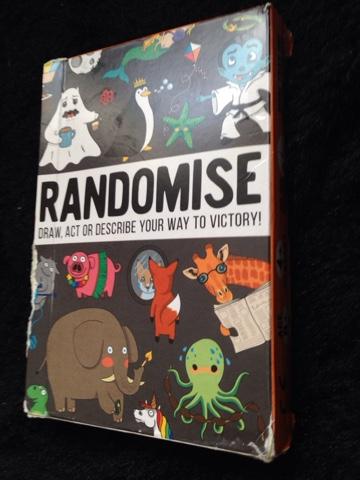 Randomise Card Game Pack
