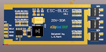 Sơ đồ nguyên lý code mạch ESC - điều tốc động cơ không chổi than
