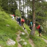 Wanderung mit Luis Tiefrastenhütte 18.06.2015 - Escursione con Luis Lago della Pausa