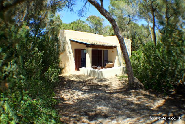Unterkunft auf Formentera