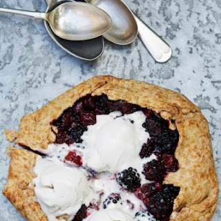 Blackberry & Cranberry Galette