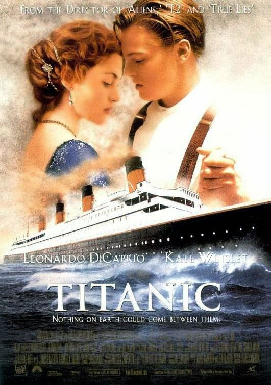 Poster Of Titanic (1997) Full Movie Hindi Dubbed Free Download Watch Online At Alldownloads4u.Com