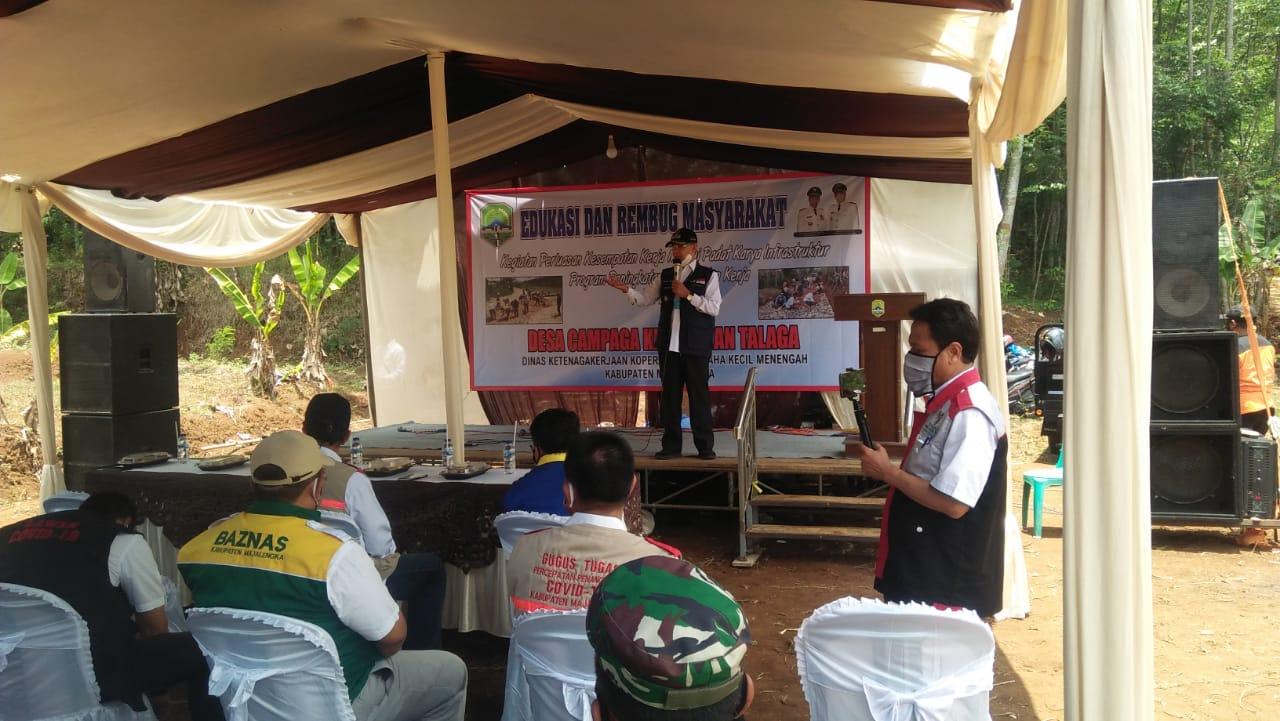 Program Padat Karya Dapat Tumbuhkan Partisipasi Warga Dalam Membangun Desa