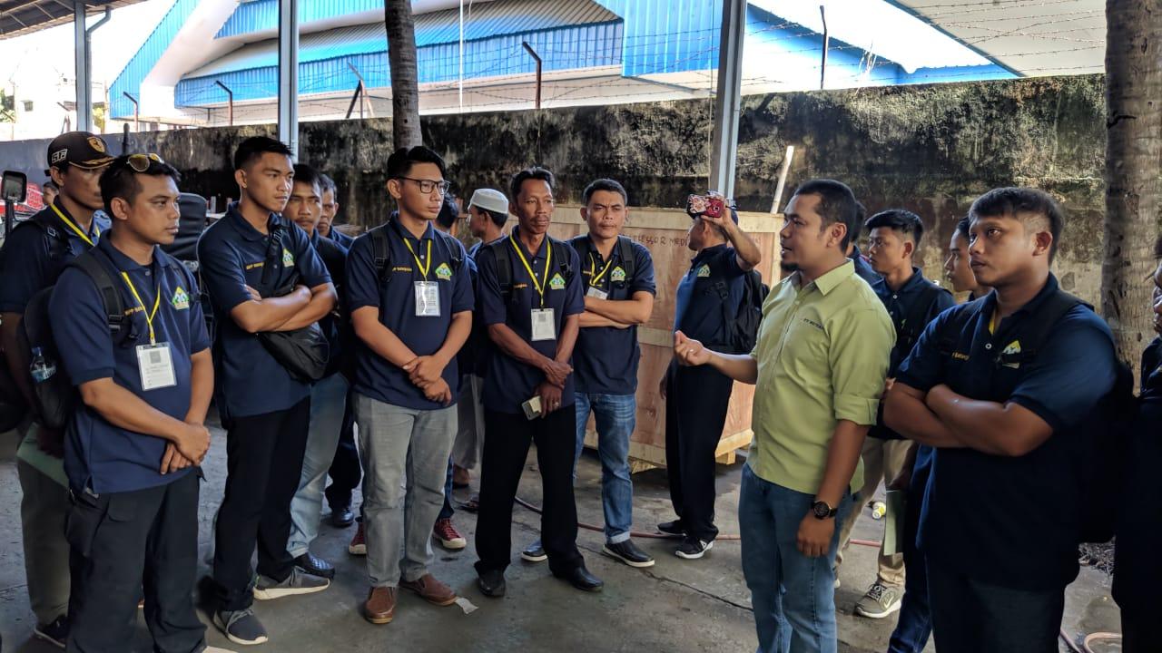 Peserta Pelatihan Dari BBPP Batangkaluku Praktek Lapang di PT. Rutan Makassar Tentang Vokasi Alsintan