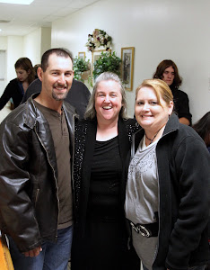 Ann with cousin Rodney and his wife.