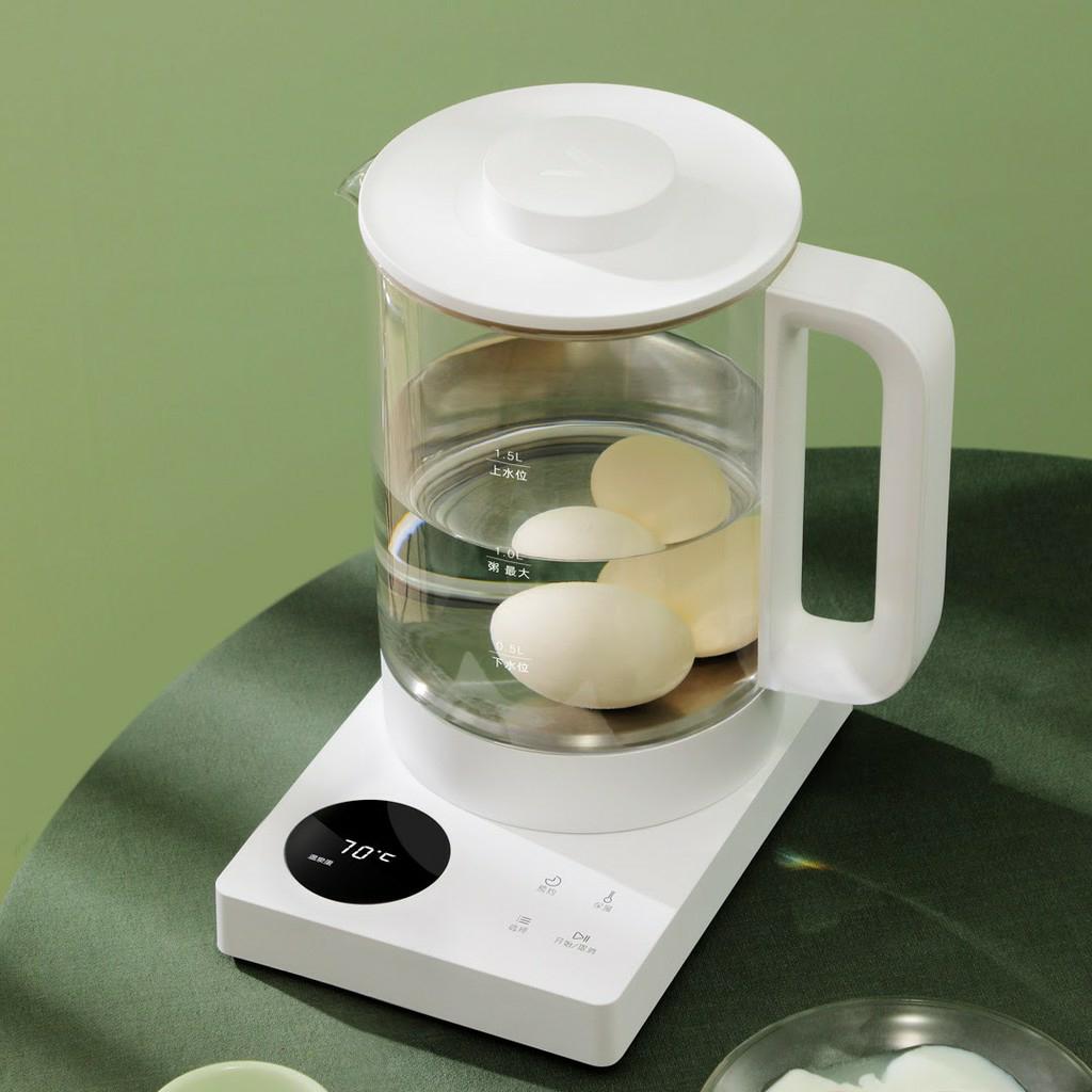 ID001 - Ấm đun đa năng. Màn hình led, phím cảm ứng, chỉnh nhiệt độ. Đun nước, pha trà, luộc trứng, hâm sữa, nấu cháo. nấu chè...
