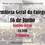 Assembleia Geral da categoria dia 16/06/11 (Quinta-feira)