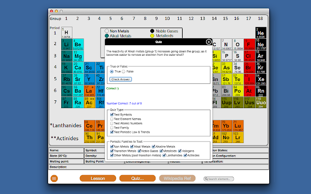 Model periodictable chrome web store model periodic table an interactive periodic table for chrome os urtaz Image collections