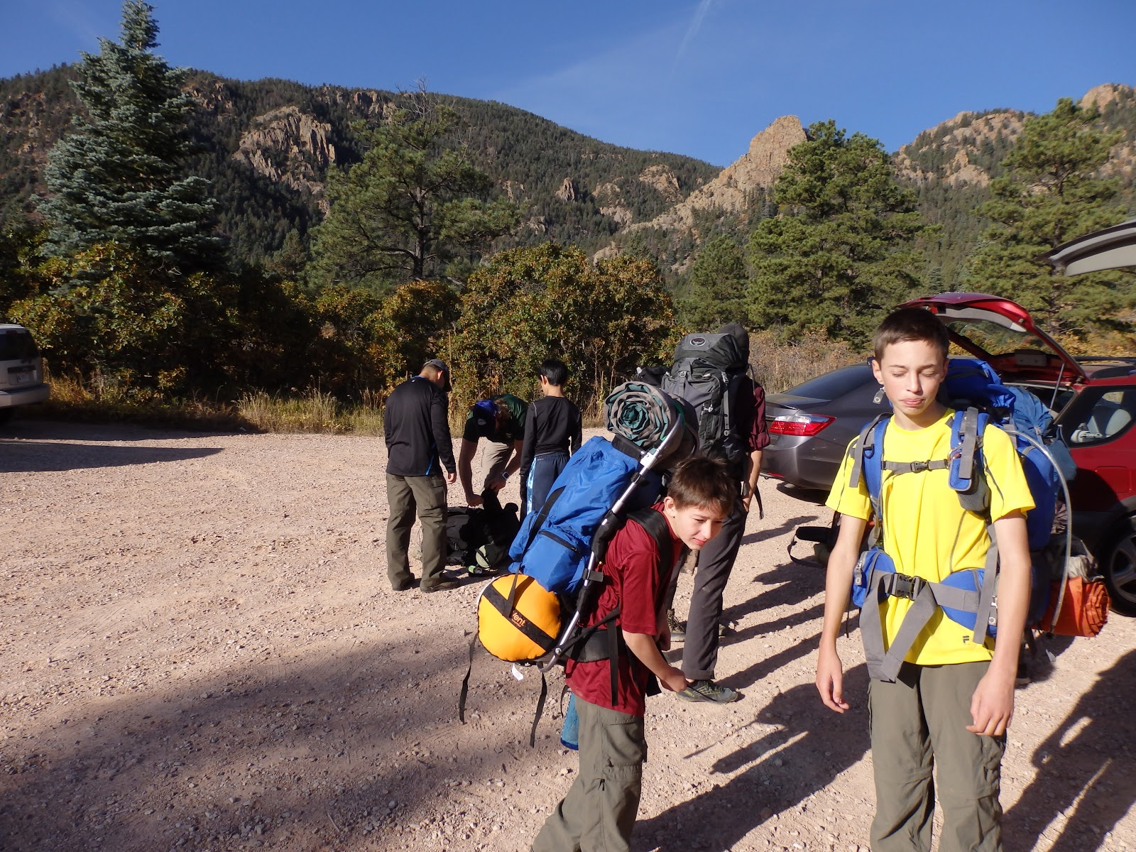 Stanley Canyon Backpack Trip Oct 2015