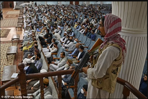 All Afghan women can study at Collage but not in the same room as men, Taliban declare