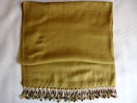 Shawl (Pashmina Viscose) - Gold