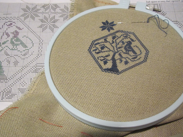 Who's idea was it to stitch 1 thread over 1?