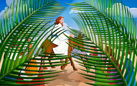 Uskrs besplatne pozadine za desktop 1920x1200 slike čestitke blagdani cvjetnica Isus Krist palmina grančica free download Happy Easter