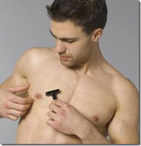 depilación genital masculina