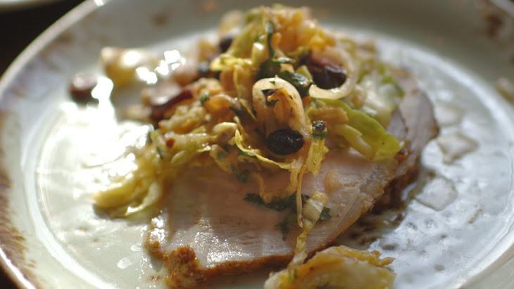 Chef JJ Johnson'S Pork Suya with Kimchi Recipe
