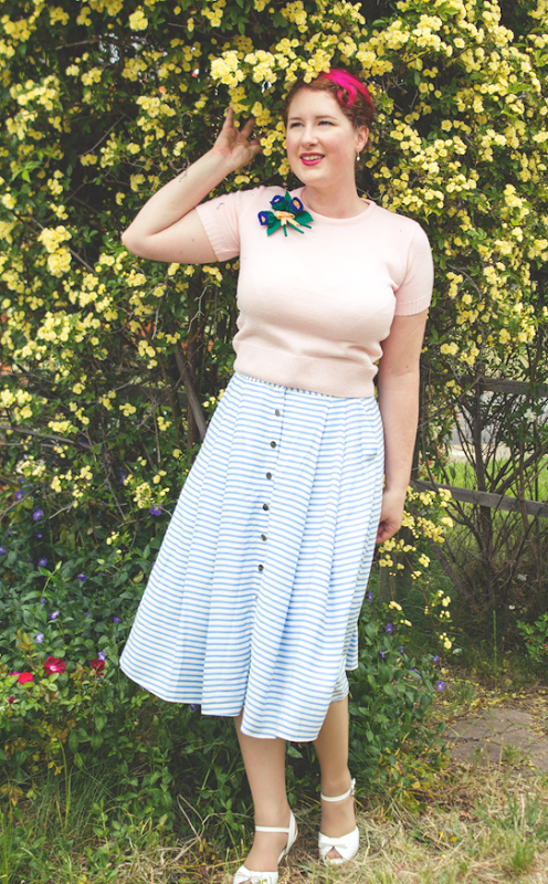 Spring pastels in 1950's style | Lavender & Twill