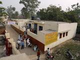 The  new health clinic at Amarpurkashi