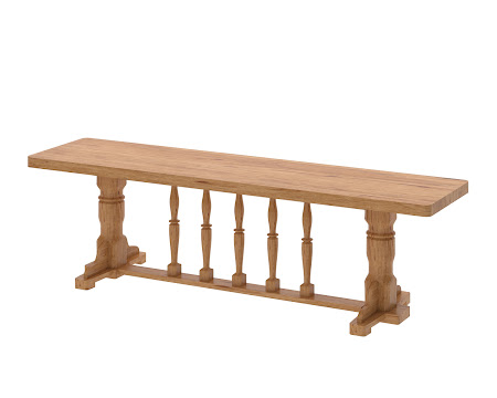 Riverside Bench in Classical Maple
