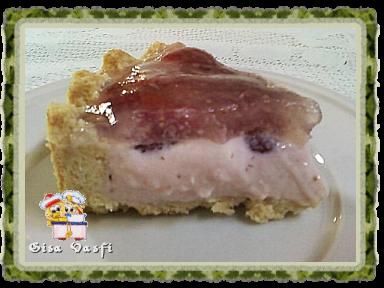 Torta cheese cake de morangos 5