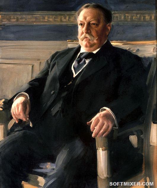 Уильям-ховард-тафт-картина-маслом-на-холсте-ручная-роспись-классическое-искусство-десятый-главный-юстиции-сша