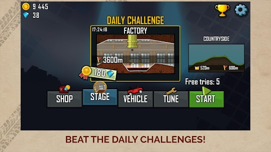 Hill Climb Racing APK MOD (Diamonds / Infinite Money)  v1.46.6 5