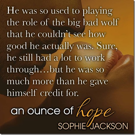 an ounce of hope teaser
