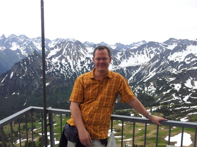 Bild von mir auf der Bergstation des Fellhorns
