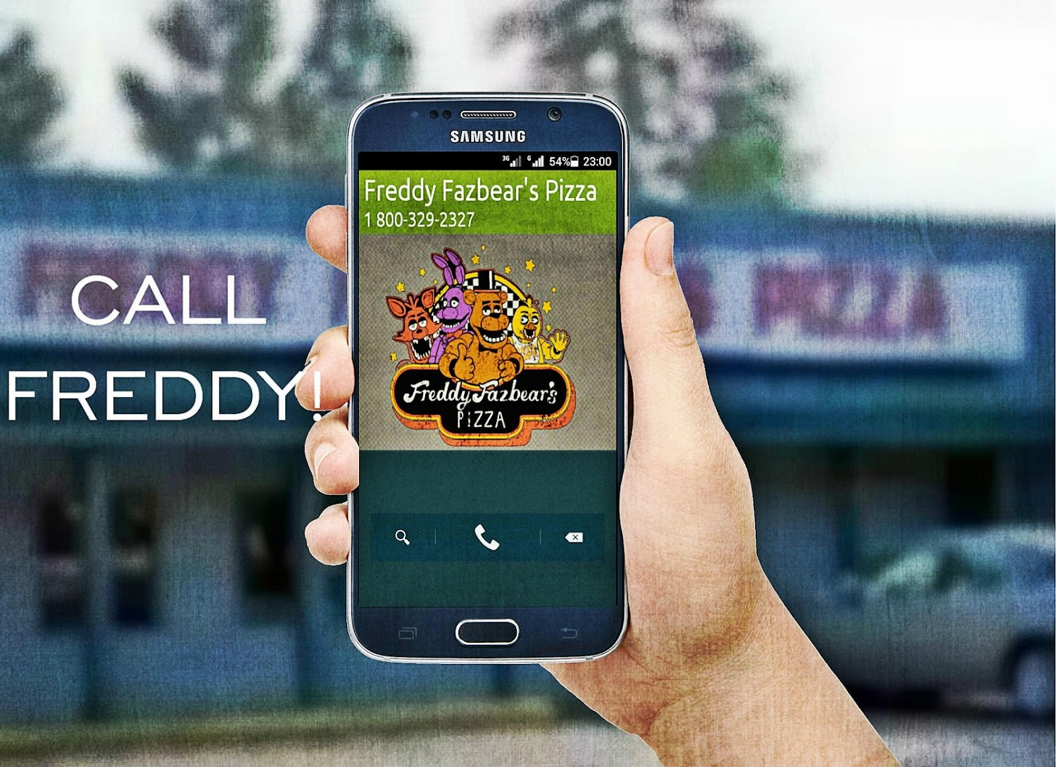 Phone number for freddy fazbears pizzaria - Phone