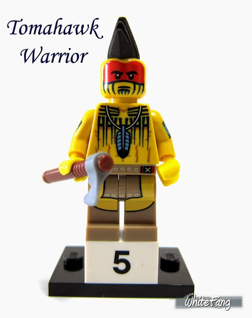 LEGO Minifigures Series 10 Tomahawk Warrior