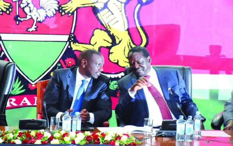 Ruto and Raila call for unity