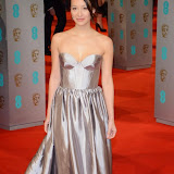 OIC - ENTSIMAGES.COM - Joanna Natasgara at the EE British Academy Film Awards (BAFTAS) in London 8th February 2015 Photo Mobis Photos/OIC 0203 174 1069