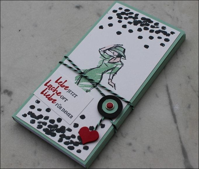Notizblöcke Kellnerblöcke Stampin Up selber verzieren Mit Stil 00