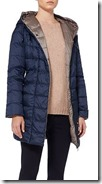 Max Mara padded coat with detachable hood