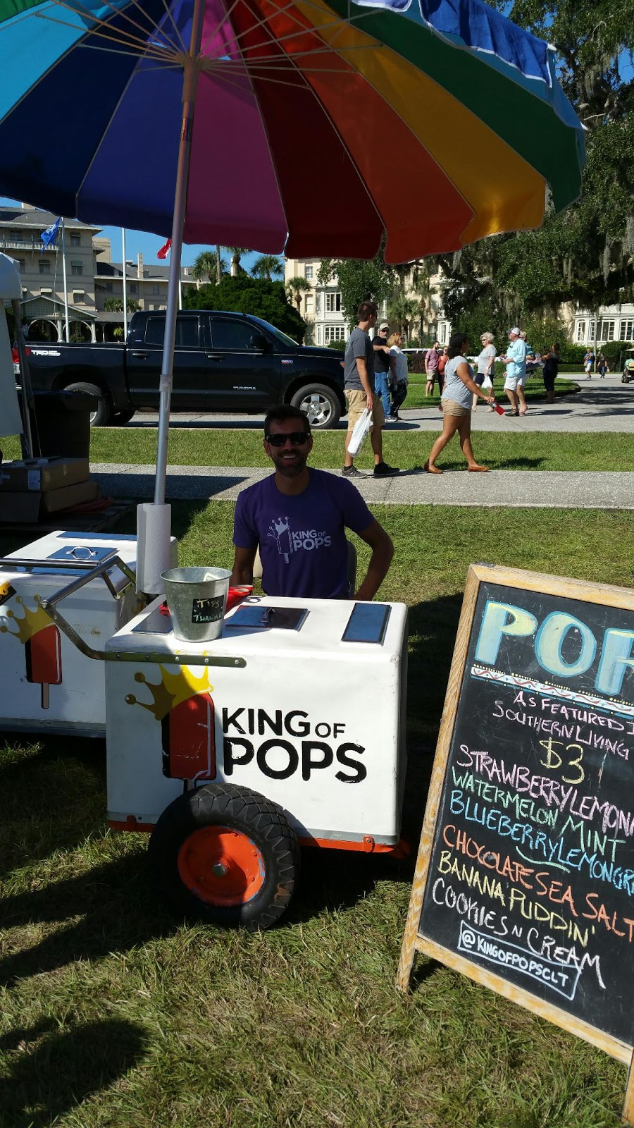 King of Pops Shrimp and Grits Festival Jekyll Island 2015  Southern Culinary Festivals
