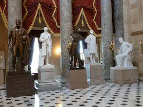 Photo: Statuary Collection in the Capitol.