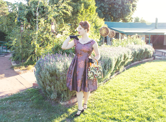 The Review Regency Dress | Lavender & Twill